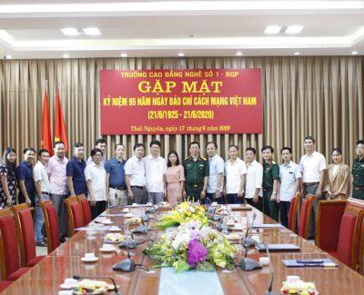 Gặp mặt các cơ quan báo chí nhân Ngày Báo chí cách mạng Việt Nam 21-6