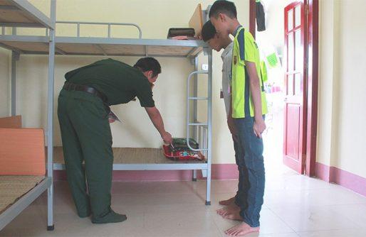 Rèn luyện tính tự lập cho môi trường nội trú của Nhà trường.